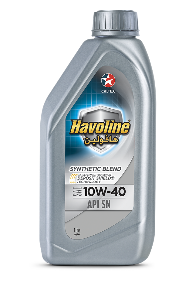 Havoline Synthetic Blend SAE 10W-40